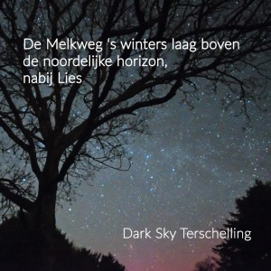 DarkSkyTerschelling: de Melkweg in de winter